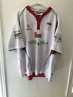 Official Oman Game Worn Muscat Rugby Football Club Game Worn Jersey Men's 3XL