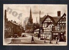 St Johns street Bromsgrove Gardening shop REAL PHOTO RPPC vintage c1900 postcard