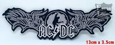 ACDC Hard rock music band Iron on Sew on Embroidered Patch