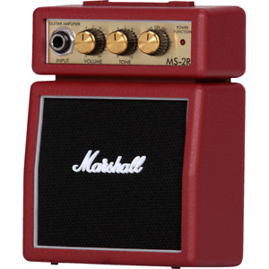 Marshall MS-2R Micro Stack Amp — Red