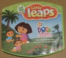 Leap Frog Baby Little Leaps: Dora the Explorer dvd DISC ONLY #77A