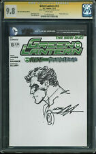 Neal Adams Signed Green Lantern Rise Of The Third Army #13 w/ Sketch CGC 9.8
