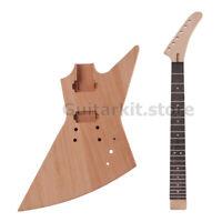 GuitarKit.Store Explorer guitar DIY Electric Guitar Kit guitar (GTSEX-525-BN)
