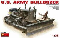 Miniart 1:35 scale model kit - US Army Bulldozer MIN35195