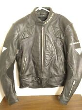 Teknic Armored Leather Motorcycle Jacket - Size 48/58