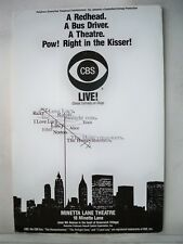 CBS LIVE Herald I LOVE LUCY / THE HONEYMOONERS Minetta Lane Theatre NYC 1994