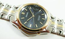 Seiko SLL086 Two-Tone Stainless Steel 8F32-0221 Sample Watch NON-WORKING