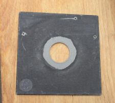 genuine Sinar norma F & P fit    lens board panel with copal 0 hole 34.6mm