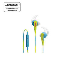 Bose SoundSport In-Ear Headphones - Neon Blue - Made for Apple RRP $139.00