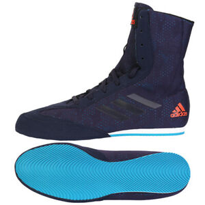 Adidas Box Hog Plus Men's Boxing Shoes Training Wrestling Navy CG3073