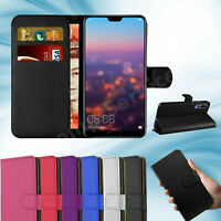 Huawei P20 Pro Phone Case Luxury Leather Magnetic Flip Wallet Stand Cover