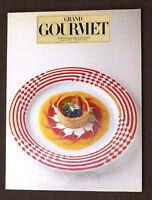 Ricettario - Grand Gourmet - Rivista internazionale di alta cucina N° 20 - 1987