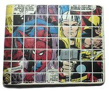 Marvel Superhero Comic Panel Bi-Fold WALLET