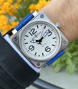 Bell & Ross BR 01-92 Silver Dial
