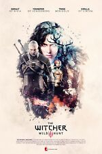 The Witcher 3 Wild Hunt Game Poster Print T146 |A4 A3 A2 A1 A0|