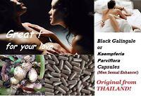 Thai natural Black Galingale Kaempferia parviflora capsules healthy Herb