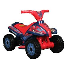 Spider-Man 6V Kids Ride On Car Electric Toy Children 6v Battery Cars quad car