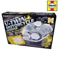 HAYNES BUILD YOUR OWN V TWIN MOTORCYCLE MOTORBIKE HARLEY CHOPPER ENGINE MODEL