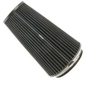 PRORAM 76mm ID Neck Extra Large Cone Air Filter with velocity stack