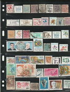 Brazil used stamp assortment