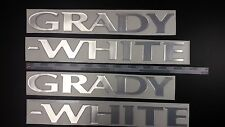 "Grady-White boat Emblem 40"" Epoxy Stickers Resistant to mechanical shocks Vinyl"