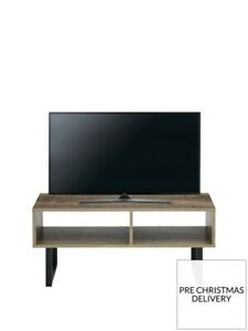 From Very* Telford Industrial TV Unit - fits up to 40 Inch TV Rustic Oak