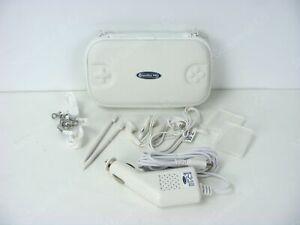 Nintendo DS Lite Essentials Travel Case & Accossories - White