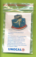 Unocal 76 Los Angeles Dodgers Pin Don Drysdale Consecutive Scoreless Innings (#3