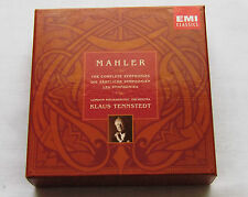 K.TENNSTEDT/MAHLER The complete symphonies E.U.11xCD Box set EMI 5 72941 2(1998