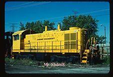 Original Slide Chrome Crankshaft ex L&N ALCO/EMD S4M 2367 In 1981 At Chicago IL