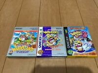 GameBoy Color WARIO LAND 1,2,3 GBC with BOX and Manual