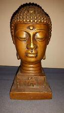 Very Beautiful Chinese Brass Buddha Head.