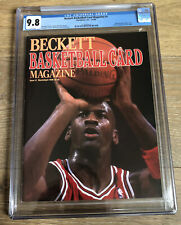 Beckett Basketball Magazine #1 1990 Jordan GOAT 1st Cover CGC 9.8 NONE HIGHER!!!