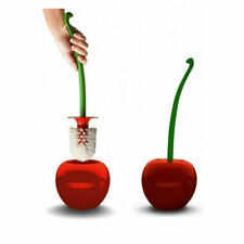 Cherry Toilet Brush Fruit Shape Bathroom Brush and Holder Cleaning Tool Red