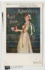 ROWNTREE'S ELECT COCOA: Celebrated posters advertising postcard (C29925)