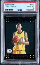 Kevin Durant 2007-08 Topps #112  Rookie Card PSA 8 NM-MT 558