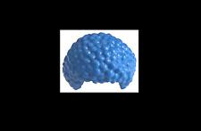 LEGO NEW BLUE AFRO MINIFIGURE BUBBLE HAIR ROUND WIG BOY GIRL CLOWN