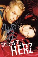 """ROSENSTOLZ """"HERZ"""" DVD NEU"""