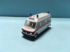 Herpa Mercedes-Benz 207 D Ambulance White 1/87 Scale Plastic Car