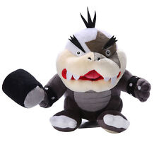 8in Super Mario Bros Morton Jr. Big Mouth Koopa Bowser Koopalings Plush Toy New