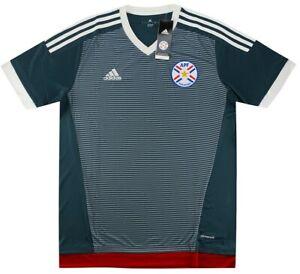 BNIB 2015-16 Paraguay Away Shirt Small Football Copa America Jersey Soccer
