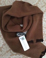 NWT Portolano 100% cashmere scarf women pink brown