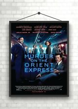 Murder On The Orient Express Classic Movie Poster Art Print A0 A1 A2 A3 A4 Maxi