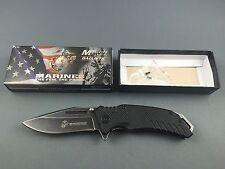 USMC US Marines Guardsman Black Messer knife - 01US010