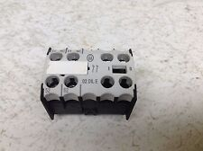 Moeller 02 DIL E 2 NC Auxiliary Contact Block 02DILE 02 DILE 02DIL