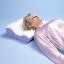 "Contour Pillow With White Polycotton Cover - L 19"" x H 5"" x W 15"""