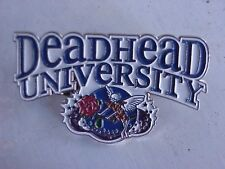 10 PACK GRATEFUL DEAD - DEAD HEAD UNIVERSITY RELIX  1 3/4 inch CLOISSONE PIN