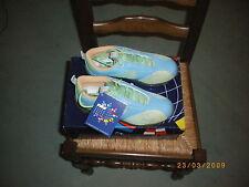 baskets,neuvent,emballées,p38,vert, bleu