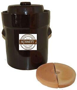 15 Lt. Fermentation crock ,Sauerkraut, healthy pot from Germany