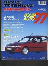 (9B)REVUE TECHNIQUE AUTOMOBILE ROVER 420 DIESEL / OPEL CORSA TIGRA